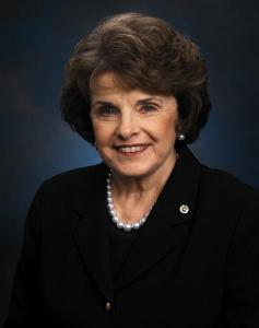 Senator Dianne Feinstein. Photo courtesy of her office.