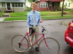 A University of Minnesota medical student donated a bike after touring our St. Paul Healing Center.
