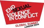 Global Summit Re Sexual Violence in Conflict Logo